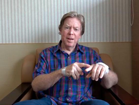 Patient Testimonials - Mr. William from Australia