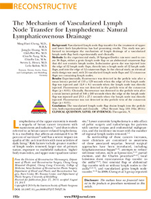 The Mechanism of Vascularized Lymph Node